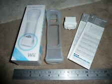 NINTENDO Wii & U OFFICIAL MOTION PLUS ADAPTER for WIIMOTE REMOTE CONTROL White