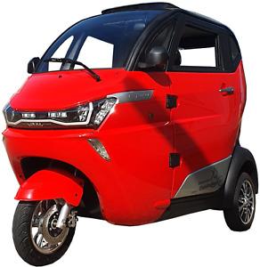 ElektroMobil DreiRad KabinenRoller ElektroRoller ElektroScooter SeniorenMobil J1