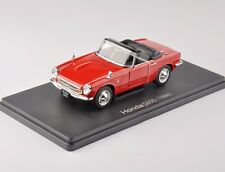 1:24 Scale Red Color HONDA S800 1966 Minicar Car Vehicles Model Toy Collection