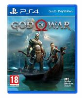 NEW & SEALED! God of War Sony Playstation 4 PS4 Game