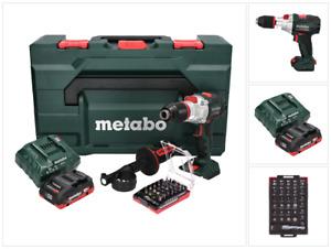 Metabo SB 18 LTX BL I Akku Schlagbohrschrauber 18V 130Nm + Akku, Lader, Bit Set
