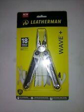 NEW Leatherman Wave+ Plus Stainless Nylon Sheath 18 Tools 832563