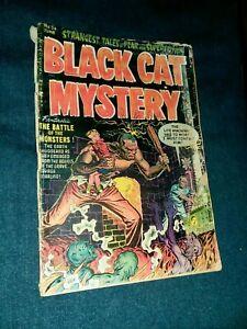 Black Cat Mystery #36 Harvey comics 1952 PRE CODE HORROR GOLDEN AGE Kremer cover