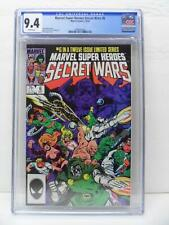 Marvel Super Heroes Secret Wars 6 - Jim Shooter Story 1984 - CGC Graded 9.4