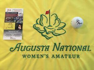 Jennifer Kupcho Signed Augusta National Women's Amateur Golf Ball, JSA !