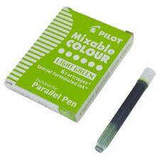 Cartucho de tinta de pluma paralelo piloto-Verde (paquete de 6)