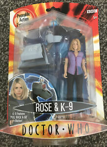 Character Doctor Who Rose Tyler & K9 Action Figure (Sealed), Sci-Fi TV Robot
