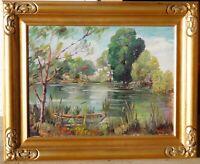 Emily Dillard, b.1879 Texas, oil/canvas 18 x 24