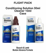 Boston Advance Flight Travel Pack (Cleaner & Conditioning Solution) Bausch+Lomb