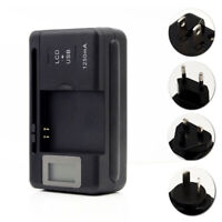 Universal Battery Charger LCD Indicator Screen Mobile For Cell Phones USB-PoPVG$