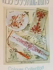 Alessandra Adelaide Needleworks Cross Stitch Chart Red Bookmarks