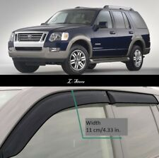 For Ford Explorer 2002-2009 Side Window Visors Sun Rain Guard Vent Deflectors