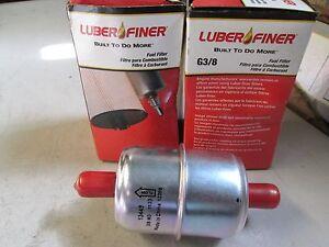 Fuel Filter Luber-Finer 3/8 INLET 3/8 PUT QTY 2 PN G3/8 C1616