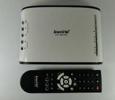 TV box with remote - Kworld ATSC/QAM TV Box HDKW-SA290-Q DE-white