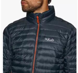 RAB Mens Beluga & Zinc Altus Insulated Outdoor Jacket Medium BNWT