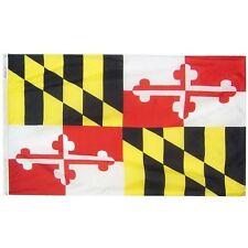 State of Maryland Baltimore Ravens Flag 4x6 Foot Flag Banner (150 Denier)
