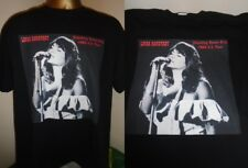 LINDA RONSTADT- STANDING ROOM ONLY 1980 PRINT T SHIRT - BLACK SMALL - ALL SIZES