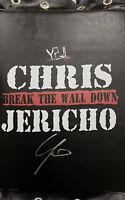 Chris Jericho Raw Turnbuckle Pad Autographed Signed Highspots WWE AEW WWF WCW