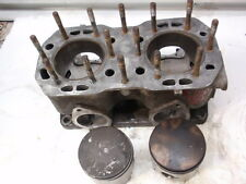 Polaris Indy 500 Fuji Twin Snowmobile Engine Std. Cylinder & Pistons Touring L/C
