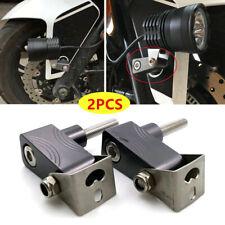 Motorcycle Head Fog LED Light Bracket Mounting Post Support Base Parts M6 M8 M10