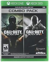 Call of Duty: Black Ops 1 & 2 Combo Pack - Xbox One Xbox 360 Compatible