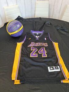 Lakers basketball vest Bryant 24, yellow, size M oversized, adidas & Basket Ball