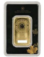 1oz. 1 Unze 31,1g Gramm Royal Canadian Mint Goldbarren im Blister