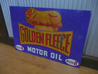 Large Golden Fleece Activ8 Metal sign Petrol Motor oil Man cave bar Garage