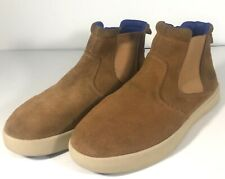 Ugg Women's Tan Suede Slip-on Ankle Boots US SIze 5 (u1)
