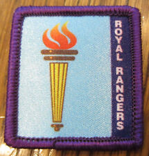 Royal Rangers Rr Uniform Patch Merit Badge Olympic Torch