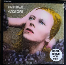 David Bowie Hunky Dory Gold Vinyl Official release sealed 33rpm