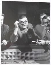 Bob Peterson et Daniel Kramer - Mario Puzo - Le Parrain - 2 Photos 1970's -