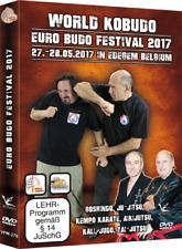 World Kobudo Euro Budo Festival 2017 Seminar DVD Goshindo Ju-Jitsu Kali Kempo