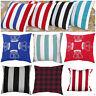Throw Home Decoration Sofa Cotton Pillow Luxury Printed Cushion Cover 18' x 18'