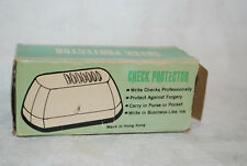l new old stock vintage new in box  check protector