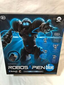 New Sealed WowWee Robosapien Blue Smart Bluetooth Enabled Robot Toy 8507