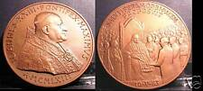 MEDAGLIA Straord.  AE Giovanni XXIII Premio Balzan