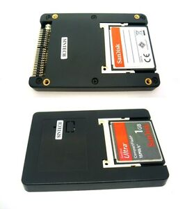 """Sintech Dual CF UDMA card TO 2.5"""" 44pin IDE adapter with case as SSD HDD ST4410"""