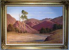 Leonard Long oil titled 'Through the Gorge, Arkaroola, Flinders S.Australia.'