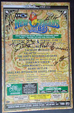 SIGNED GALACTIC NEW ORLEANS BY THE BAY Original Bill Graham Presents POSTER