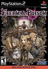 Eternal Poison (Sony PS2 PlayStation 2, 2008) W/ Manual & CD Excellent!