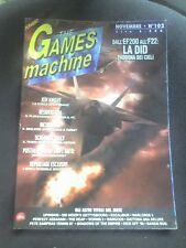 THE GAMES MACHINE 102 Novemb 1997 JEDI KNIGHT RESIDENT EVIL GRAND THEFT AUTO 1