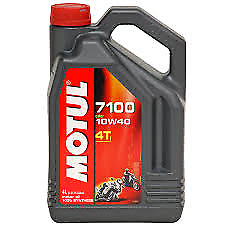 Motul 7100 4T  10w 40 (FullySynthetic ) 4Ltr Motorcycle OIl