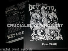 SWEDISH DEATH METAL Daniel Ekeroth BOOK history At The Gates Entombed Nihilist