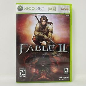Fable II 2 (Xbox 360, 2008) Complete w/ Manual