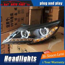 2Pcs Headlights assembly For Kia Sportage 11-16 Bi-xenon Lens Projector LED DRL