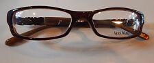 Vera Wang V083 Crimson 52/16 Eyeglass Frame New