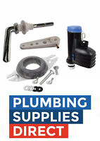 """* Toilet Close Coupled Fittings Pack for Cistern Lever / 8"""" Syphon Full Kit"""
