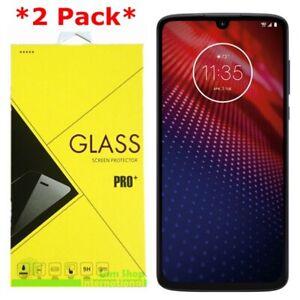 2-Pack Premium Tempered Glass Screen Protector For Motorola Moto Z4