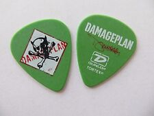 Awesome Damageplan Dimebag Darrell Guitar Pick Pantera 2004 Tour Vinnie Paul